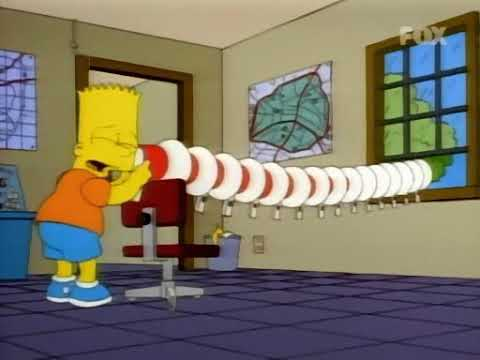 I Simpson ITA - Bart distrugge Springfield con i megafoni