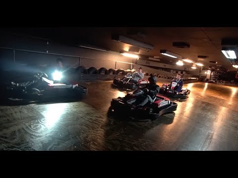 THIS WAS SAVAGE 24H OVERNIGHT CHALLENGE IN A GO KARTING CENTRE