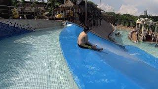 Strange Water Slide at Wet World Water Park