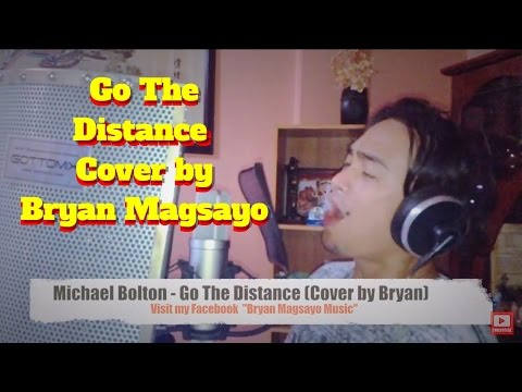Michael Bolton - Go The Distance Cover by Bryan...