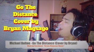 Michael Bolton - Go The Distance Cover by Bryan