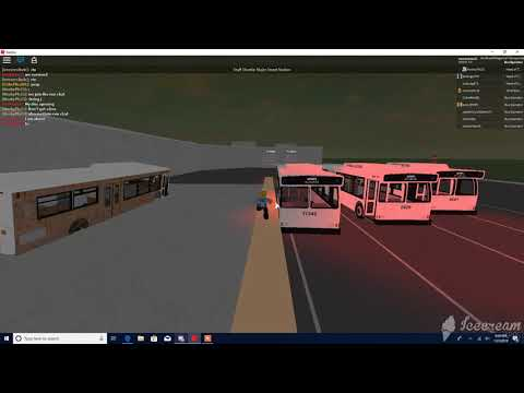NRTC Major Street Division. Very sharp turn at the depot.