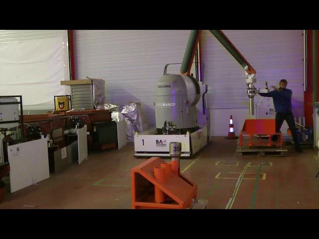 PRC2 : Cobot mobile pour le nucléaire.