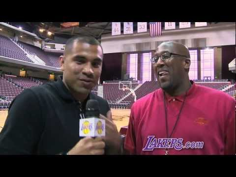 Lakers Guest Reporter: Ricky Romero