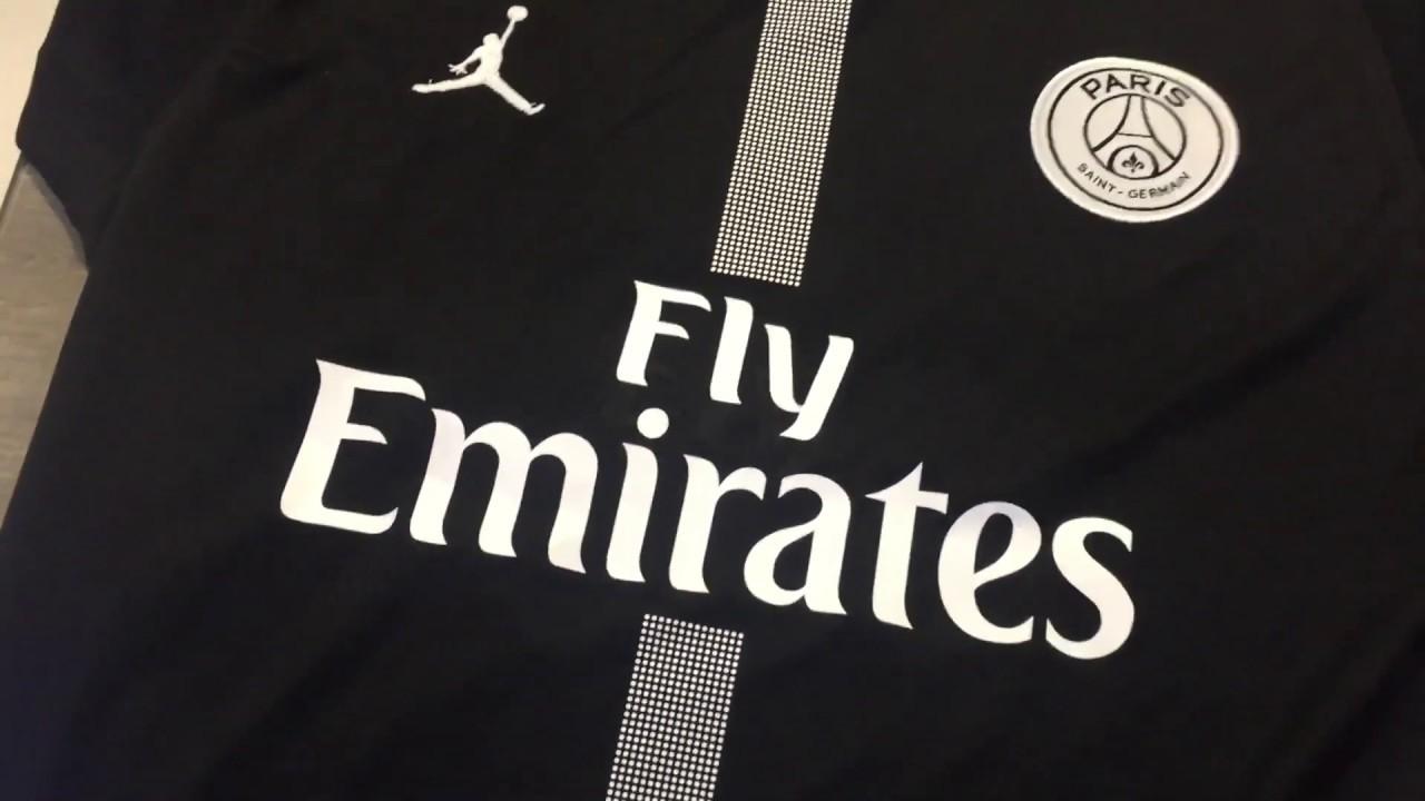 wide range huge discount size 40 Camisa PSG 2018 2019 Preta DHGate REVIEW (terceira camisa ...