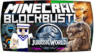 MINECRAFT ► JURASSIC WORLD DIMENSION DUNGEON CHALLENGE in MINECRAFT! ★ Minecraft BLOCKBUSTER |S2•#08