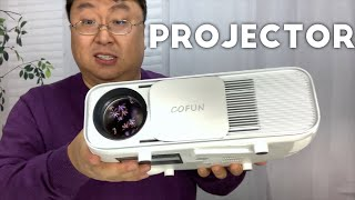 Super Bright 720p LED Projector by COFUN Review