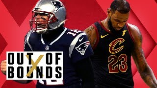 Cavs Hot Mess; Racism in Sports? Tom Brady Only Star QB Left   Out of Bounds