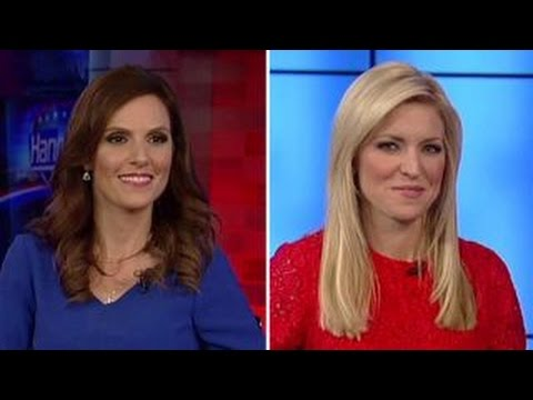 Taya Kyle and Ainsley Earhardt react to Time