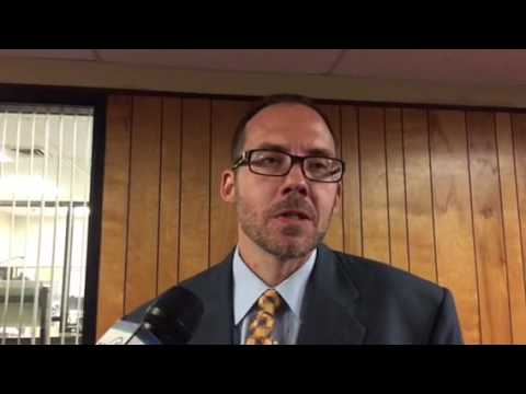 Senior Assistant Attorney General Peter Hinckley talks about hearing