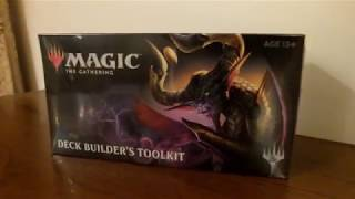 Konkurs i Unboxing! Czym jest Deck Builder's Toolkit? - Magic The Gathering