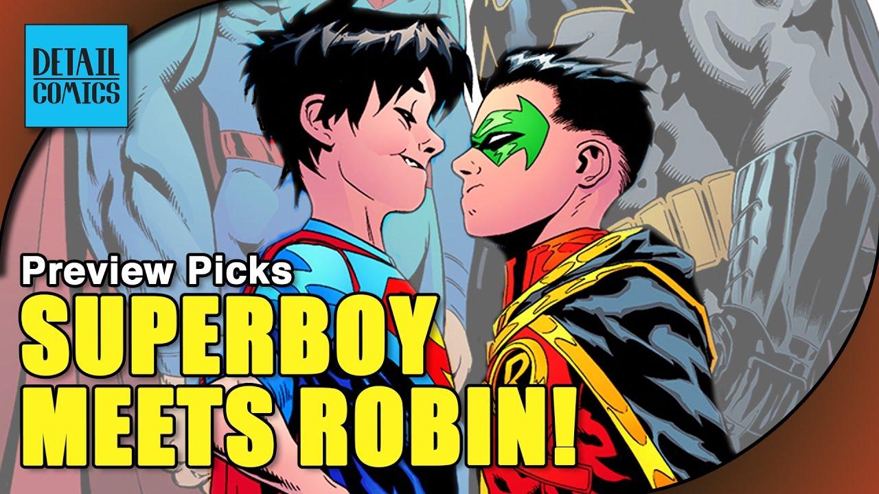 Superboy Finally Meets Robin Plus Avengers  Unworthy -6565