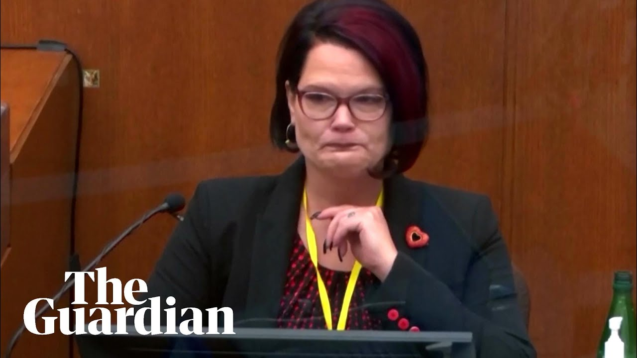 George Floyd's girlfriend gives tearful testimony about addiction struggle