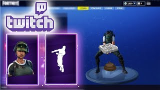 "NEW Fortnite Twitch Prime DANCE EMOTE ""FREESTYLIN"" Showcased with 38 SKINS (NEW SKIN TRAILBLAZER)"