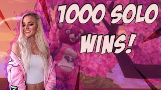 Fortnite - 1000 SOLO WINS! LIVE NOW! 14K ELIMINATIONS. GOING FOR HIGH KILL GAMES.