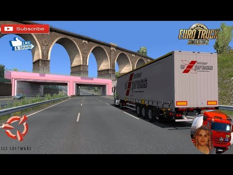 Euro Truck Simulator 2 (1.35) Devivery to Dresden Germany Iveco Hi Way NP + DLC's & Mods