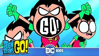 Teen Titans Go! | Robin Is Very Annoying... | DC Kids