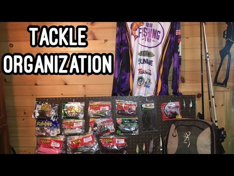 Fishing Tackle Organization Tips and Ideas