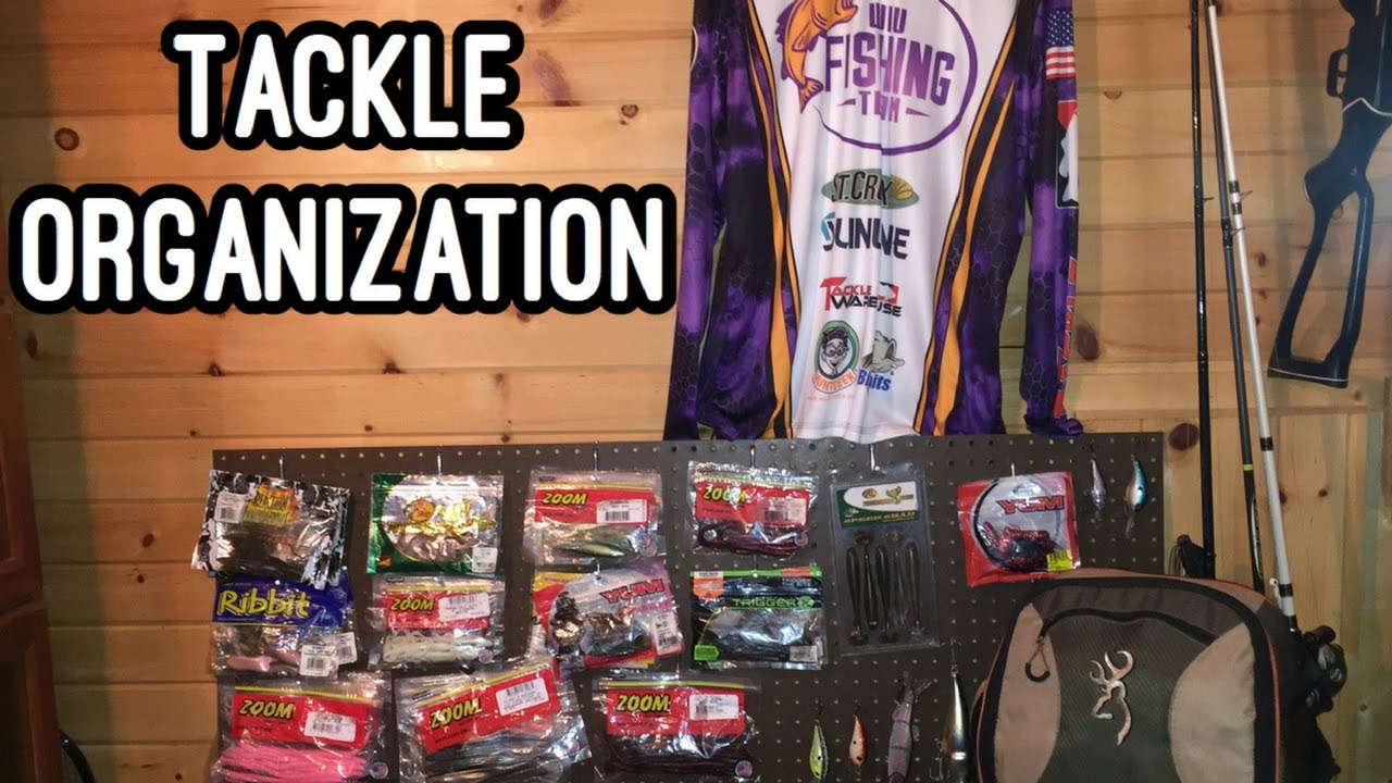 Fishing tackle organization tips and ideas youtube for Fishing tackle organization