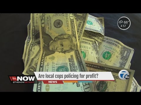 Are local cops policing for profits?