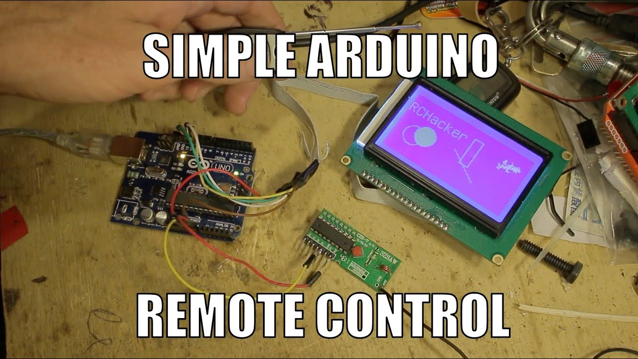 Simple Arduino 4 Channel Radio Control Rchacker 68 Youtube 433mhz Rf Transmitter Receiver Circuit Cy046 Buy Premium