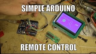 Simple Arduino 4 channel radio control. RCHacker #68