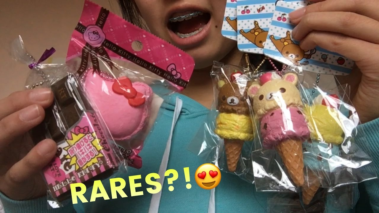 Rare Squishy Giveaway : RARE SQUISHY PACKAGE FROM MESOKAWAII + GIVEAWAY WINNER !! - YouTube