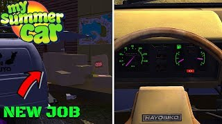 NEW DELIVERY JOBS - HAYOSIKO COLORFUL GAUGES - My Summer Car #152 (Mod)