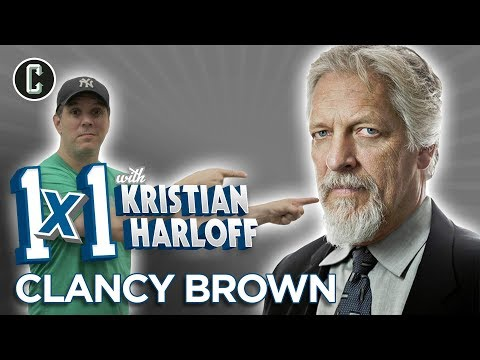 Actor Clancy Brown , 1 X 1 WITH KRISTIAN HARLOFF