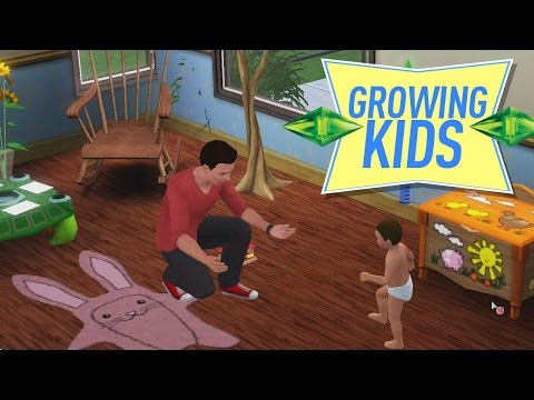 TALKING & WALKING KIDS - Sims 3 Ever After Ep. 24