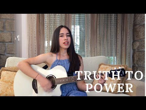 One Republic- Truth To Power (acoustic cover by Maria Fernandes)