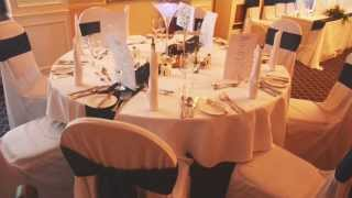 Glazert Country House Hotel - Wedding Breakfast Set Up (x70)