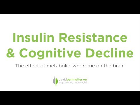 Insulin Resistance and Cognitive Decline: The Effect of Metabolic Syndrome on the Brain