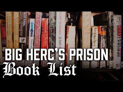 Big Herc's Top Prison Book Picks - Prison Talk 12.8