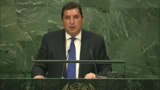 Выступление зампостпреда В.К.Сафронкова на заседании ГА ООН по положению на Ближнем Востоке