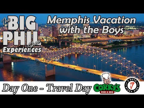 Memphis With The Boys - Day One - Corky's BBQ