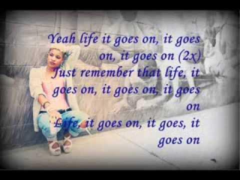 Ashley Dubose-Life goes on lyrics