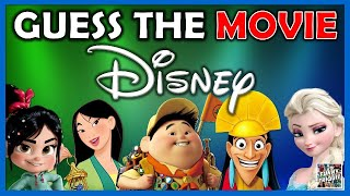 """Guess the """"DISNEY MOVIE BY THE SCENE""""! Challenge/Quiz/Test"""