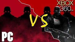 Wolfenstein: The New Order PC vs XBOX 360 Comparison (HD)
