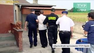Z kosą i siekierą na policję podczas eksmisji [www.24opole.pl]