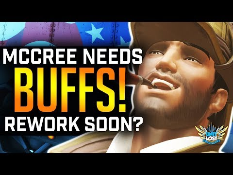Overwatch - McCree BUFF Not ENOUGH! Rework Soon?