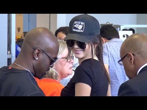 Kendall Jenner Keeps A Lid On Nick Jonas Romance At LAX, Part 2 thumbnail