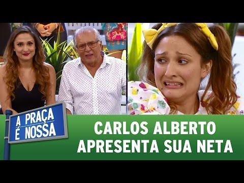 Veja a estreia de Dalila Nóbrega, neta de Carlos Alberto | A Praça É Nossa (06/04/17)