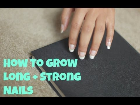 How to Grow Long + Strong Natural Nails - YouTube