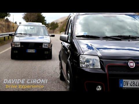 Fiat Panda 100 HP vs Uno Turbo - Davide Cironi Drive Experience (ENG.SUBS)