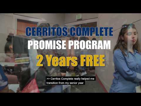 Dave Styles - Cerritos College New Program Offers 2 Years Of Free Tuition!