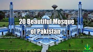20 Beautiful Mosque of Pakistan 2018