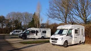 014 - Hunters Moon Caravan and Motorhome Club Site, Wearham, February 2018