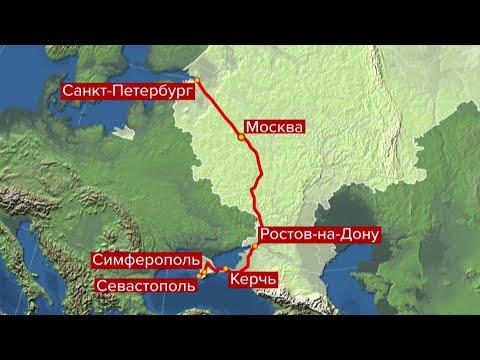В Крым из Санкт-Петербурга на поезде можно будет поехать уже 23 декабря.