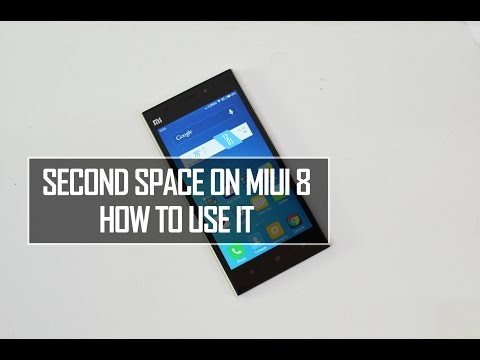 Second Space on MIUI8- How to Use it